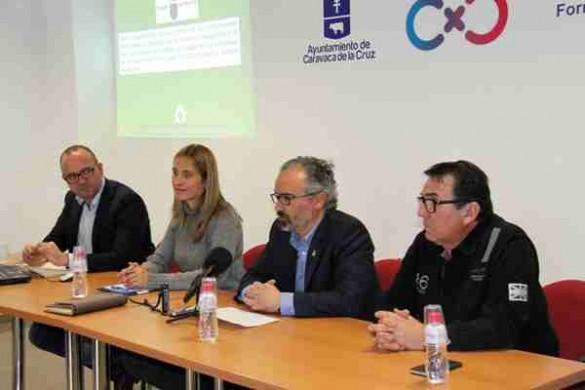 Reunión con la Directora General de Industria y el Alcalde de Caravaca