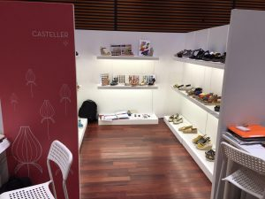 Casteller en Shoes from Spain Tokio